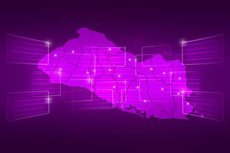mapa de el salvador: Mapa El Salvador Mapa del Mundo entrega Noticias Comunicaci�n p�rpura