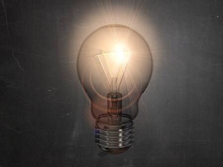 lampe: Glübirne Idee Lampe Leuchte leuchten Einfall Stock Photo