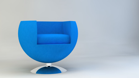designer chair: Chair armchair furniture design Designer Furniture blue