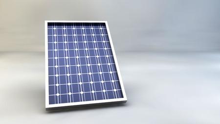 Zonnepaneel Zonnepaneel zonne-energie environmentalism 3D