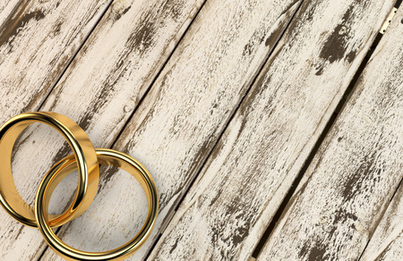 結婚結婚結婚リング リング結婚指輪ウェディング リングの 3 D 写真素材