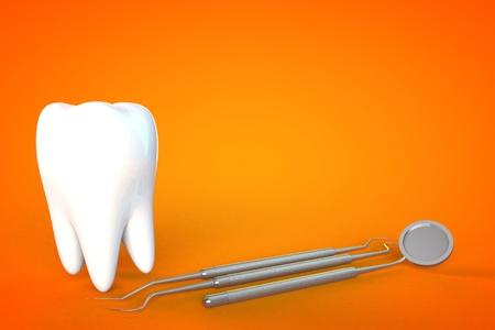molar: Tooth molar tooth Dental Hygiene Dentist 3D green