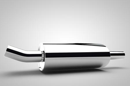 Tubo de escape del coche piezas de tubo de acero cromo sintonización automática