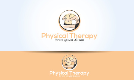 chiropractor: leg physical therapy graphic illustration chiropractor