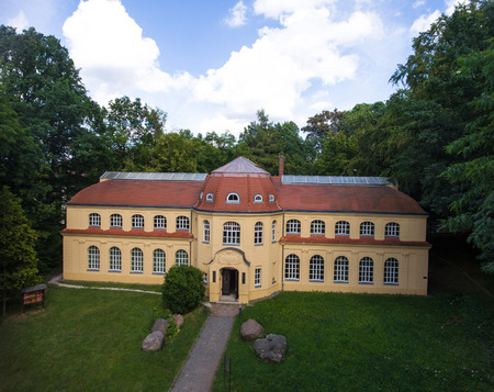 natural science: Altenburg: Mauritianum, Natural Science Museum aerial view