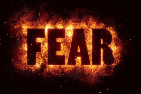 fear fire text flame flames burn burning hot explosion Reklamní fotografie