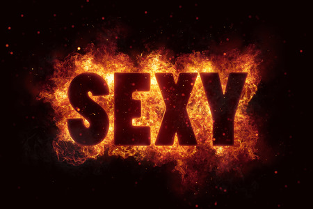 sexy sex adult xxx text on fire flames explosion burning