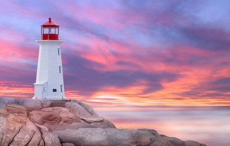 Peggys Cove, St. Margarets Bay, Nouvelle-Écosse Banque d'images