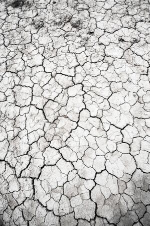 Dried and Cracked desert ground texture dry earth background