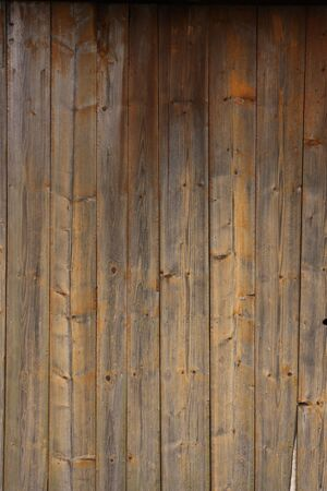 A texture of an old wooden desk. photo