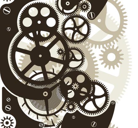 tandwielen: COG wielen werk. naadloze patroon door verticale.
