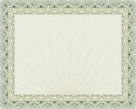 A secured document background.