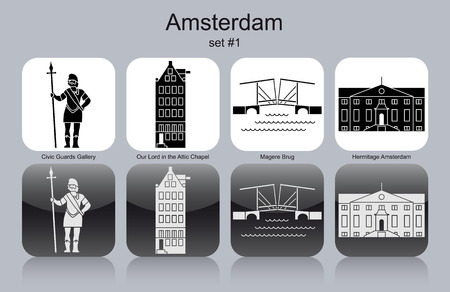 civic: Landmarks of Amsterdam.