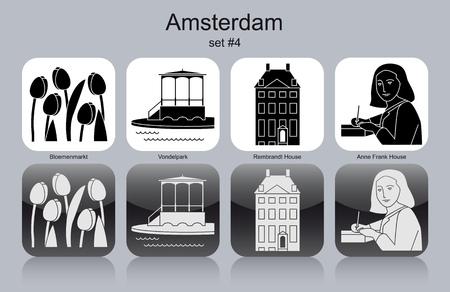pavilion: Landmarks of Amsterdam.