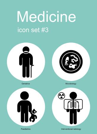 Medical icon set. Editable vector illustration.