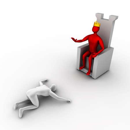 esclavo: el rey ordena