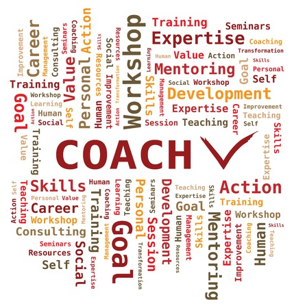 word cloud: Word Cloud - Coach - Letters