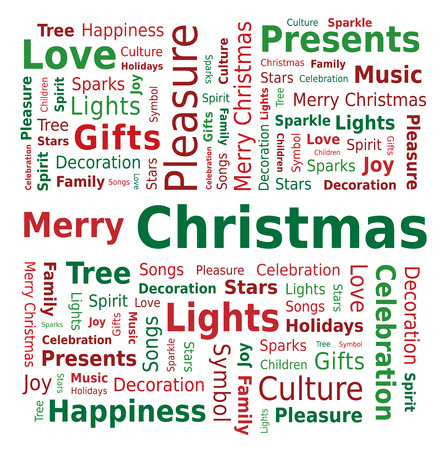 word cloud: Word Cloud - Merry Christmas