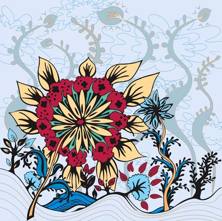 enchanting: Flowers in Paradise - Enchanting Landscape