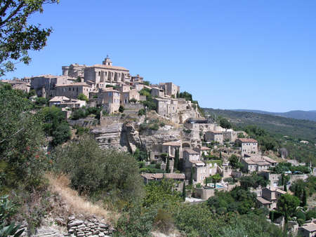 typical: Typical Gordes Village South France