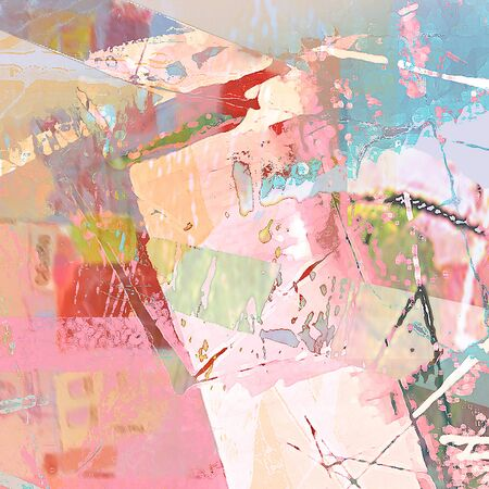fabric art: Abstract Background Digital Art Mixed Media Multicolored Stock Photo