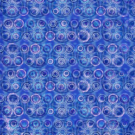 mandalas: Pattern with Circle Mandalas in Blue Background Stock Photo
