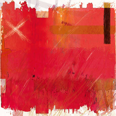 altered: Abstract Background Digital Art Mixed Media in Red Colors