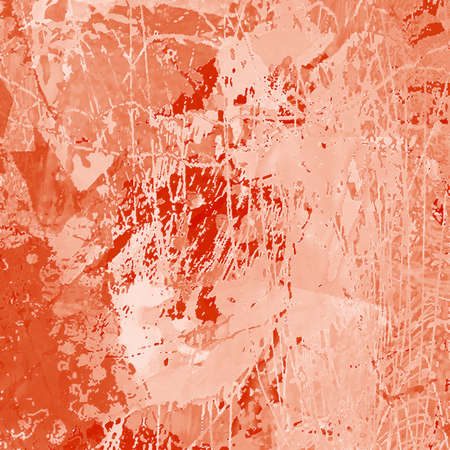 Abstract Background Illustration in Orange Colors