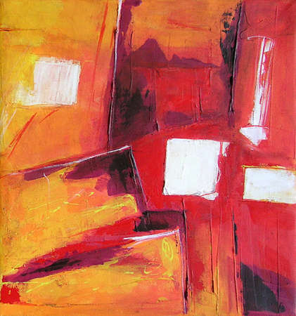 Modern Abstract Art - Background - Illustration From Original Contemporary Painting