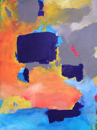 Illustration from Original Abstract Contemporary Painting