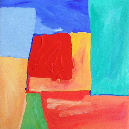 Abstract Illustration from Original Contemporary Painting