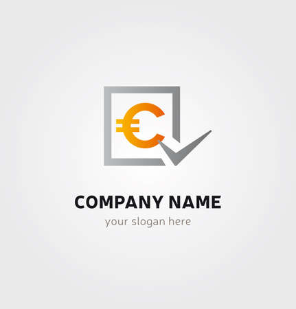 Single Logo - Crypto Coin C Letter Money Currency for Company Business Logo  イラスト・ベクター素材