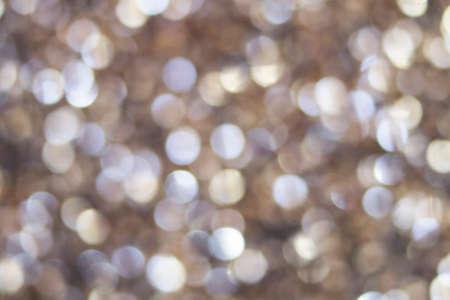 textura: fotografia de textura desenfocada destellos circulares plateados y dorados
