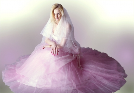 waiting glance: bride