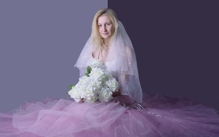 thrown glance: bride