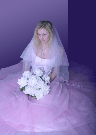 russian bride photo