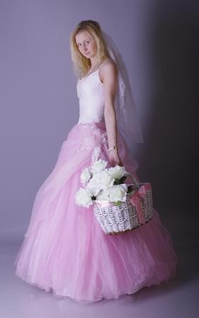 thrown glance: Slavic bride