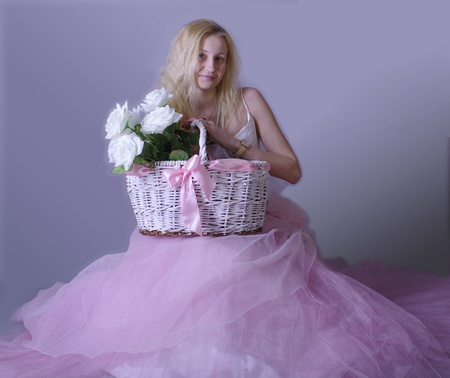 waiting glance: Slavic bride