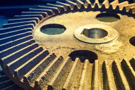 interlocked: Interlocking industrial metal gears