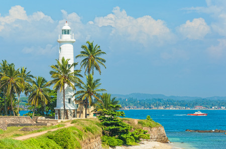 colombo: Sri Lanka, Lighthouse Dondra Head Stock Photo