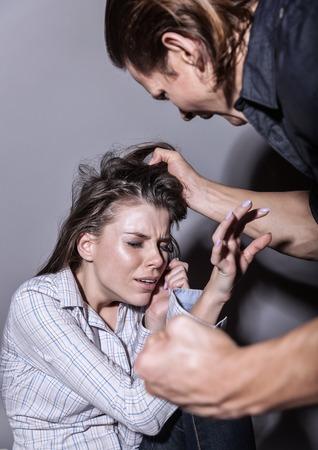 abuso sexual: Mujer v�ctima de la violencia dom�stica y el abuso