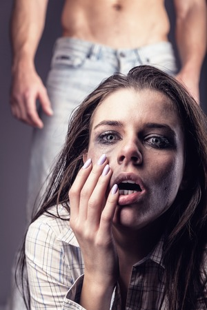 assault: Fear of woman victim of domestic violence and abuse