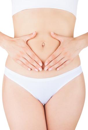 cuerpo femenino: Primer en la mujer