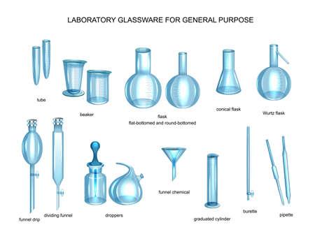 General-purpose laboratory glassware Imagens - 133719251