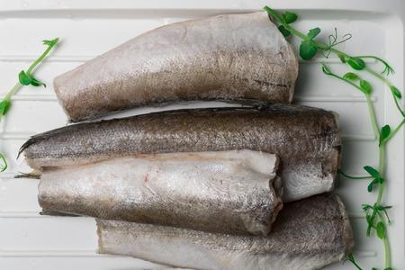 frozen hake fish