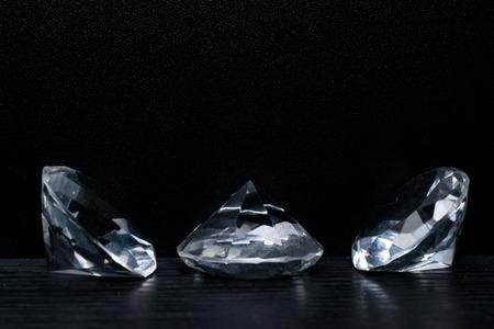 isolated luxury brilliant on a black background Reklamní fotografie