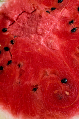 background of Red texture of fresh sweet watermelon