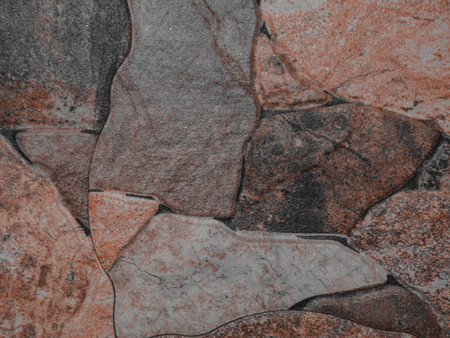 red ancient stone wall, Cultured Stone background textured copy space