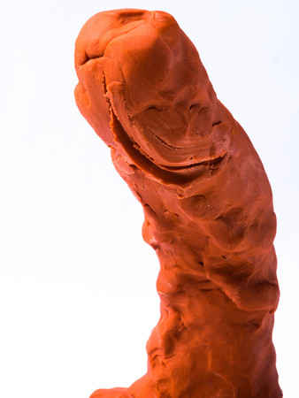 Symbols to the penis or male organs from clay, concept: Penis size and nourishment and health.Penis measure, man power and potency, Japan's Fertility Festival