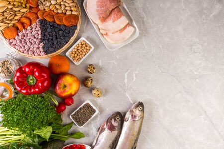 selection foods with anti inflammatory vitamins A, B, C, D, E. K, Zn, Best Vitamins for Fighting Inflammation